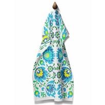 Domarex Folk konyhai törlőruha, kék, 45 x 70 cm