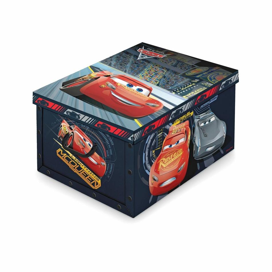 Domopak Living Úložný box s rukojetí Disney Cars, 39 x 50 x 24 cm