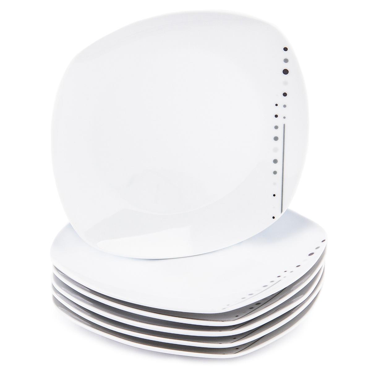 Fotografie Mäser 6dílná sada dezertní talířů Fadilla, 19 cm
