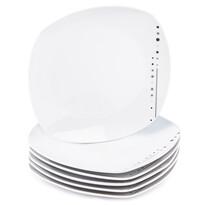 Mäser 6dílná sada dezertní talířů Fadilla , 19 cm