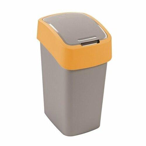 Curver Odpadkový kôš FLIP BIN 10 l, žltá
