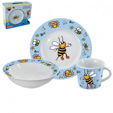 Orion 3dílná sada nádobí pro děti Včelka