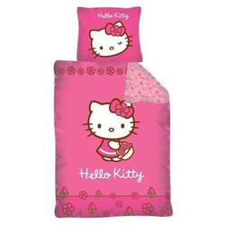 Dětské bavlněné povlečení Hello Kitty Pinkie, 140 x 200 cm, 70 x 80 cm