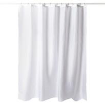 Sprchový závěs bílá, 180 x 180 cm