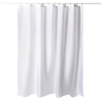 Zasłona prysznicowa biały, 180 x 180 cm