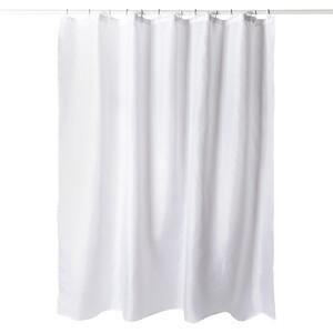 Koopman Sprchový závěs bílá, 180 x 180 cm