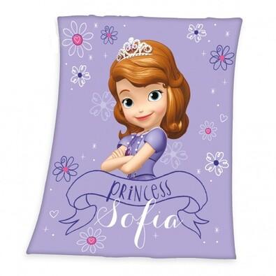 Detská deka Princezná Sofia, 130 x 160 cm