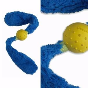Přetahovací hračka pro psy - ocásek REBEL DOG, modrá