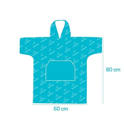 Towee Surf Poncho FISHWAVE, 60 x 80 cm
