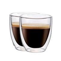 Set 2 pahare termorezistente Maxxo Espresso