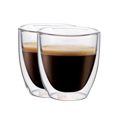 """Maxxo """"Espresso"""" 2-dielna sada termo pohárov, 80ml"""
