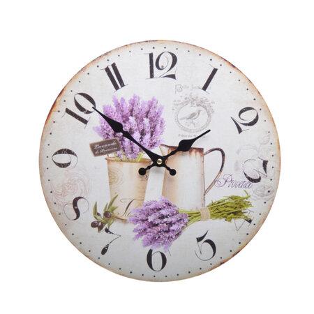 Zegar ścienny Lawenda HLC18311