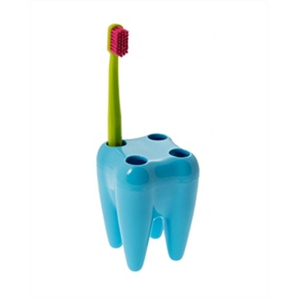 Držiak na kefky zub, modrý