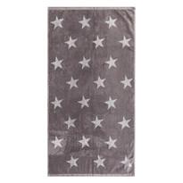 Ręcznik Stars szary, 50 x 100 cm