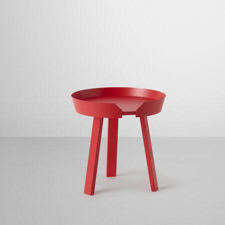 Konferenční stolek Around malý, červený