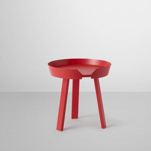 Muuto Konferenčný stolík Around malý, červený