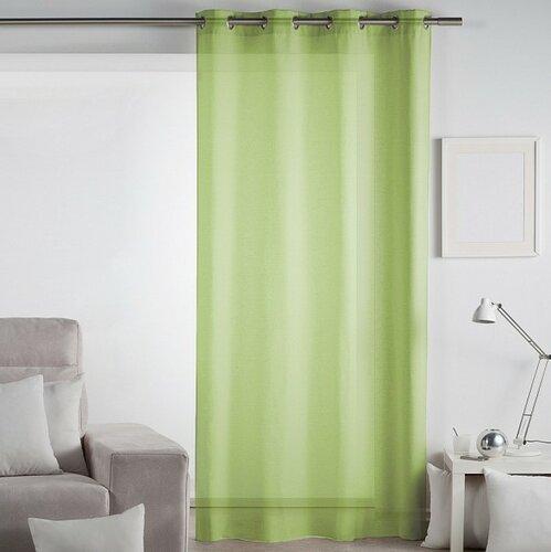 Matějovský Záclona Lilien zelenkavá, 140 x 260 cm