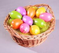 Velikonoční vajíčka, vícebarevná