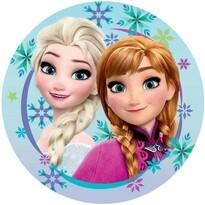 Tvarovaný polštářek Ledové Království Frozen sister, 31 x 14 cm