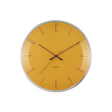 Karlsson KA5754YE Stylowy zegar ścienny, 40 cm