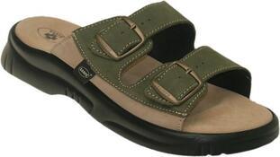 Santé Pánské zdravotní pantofle  vel. 46 hnedé