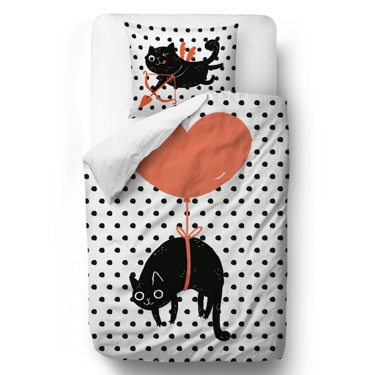Butter Kings Saténové obliečky Valentine's Day, 140 x 200 cm, 70 x 90 cm