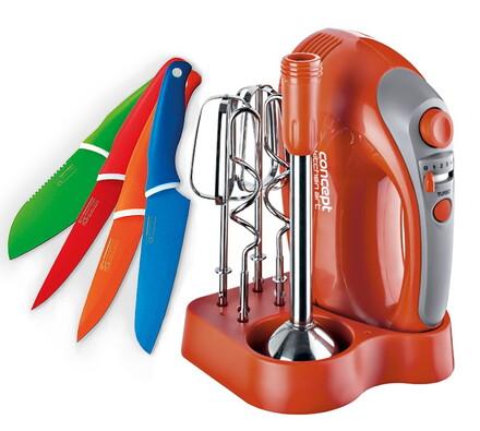 Šlehač ruční elektrický s tyčovým mixérem Kitchen