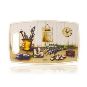 Banquet Krájecí prkénko plastové (36x22 cm LEVANDULE)
