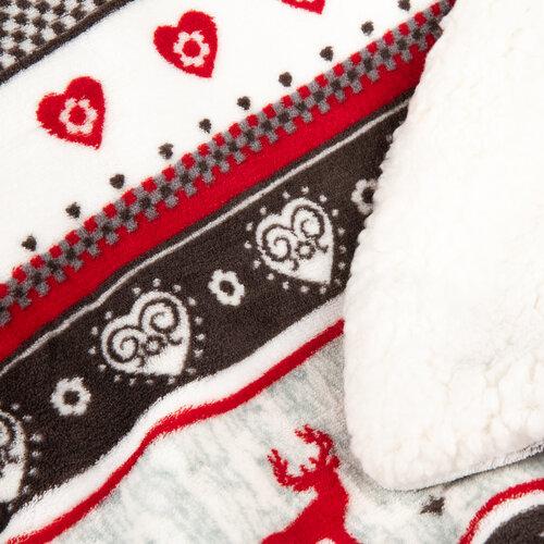 Pătură din lână 4Home Winter design, 150 x 200 cm
