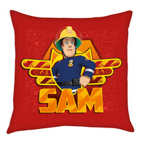 Perniță roșie Pompierul Sam, 40 x 40 cm