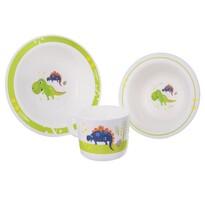 Serviciu de masă pentru copii Orion Dino, 3 piese