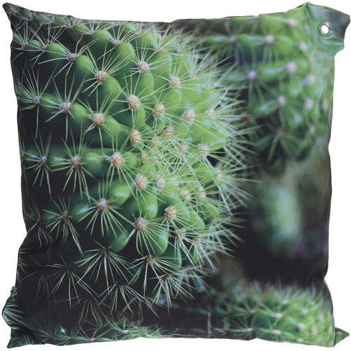 Poduszka Kaktusy zielona 45 x 45 cm