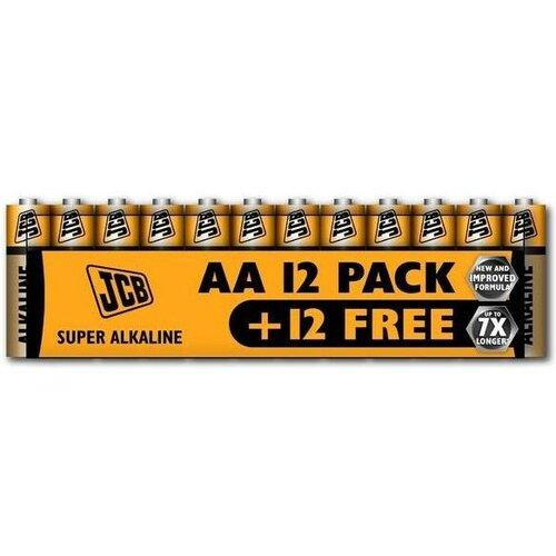 Baterie JCB SUPER AA 24 ks