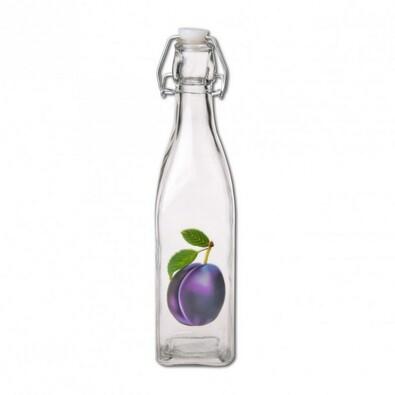 CLIP skleněná láhev na ocet/olej 0,53 l