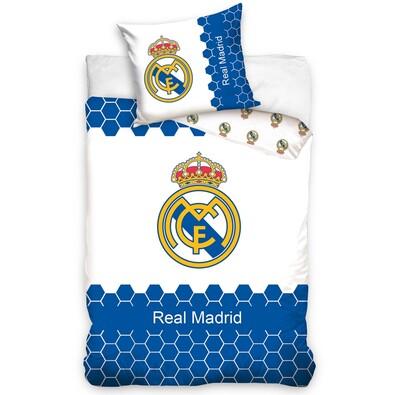 TipTrade Real Madrid Kék-Fehér pamut ágyneműhuzat 8a77ac6daa