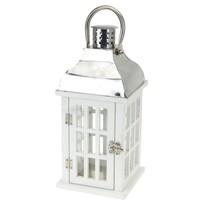 Simorre fa lámpás, fehér, 15 x 32 cm