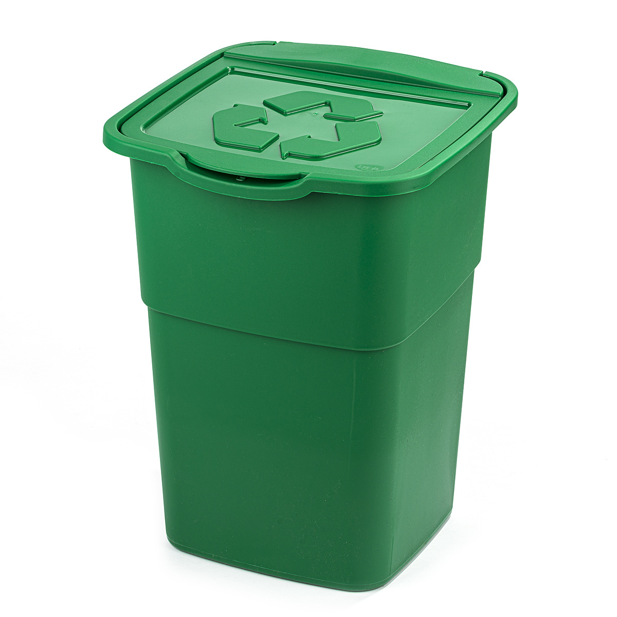 Kosz na odpady segregowane Eco Master 50 l, zielony