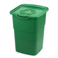Koš na tříděný odpad Eco Master 50 l, zelená