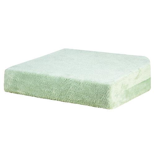 Prostěradlo z mikrovlákna, zelená, 90 x 200 cm