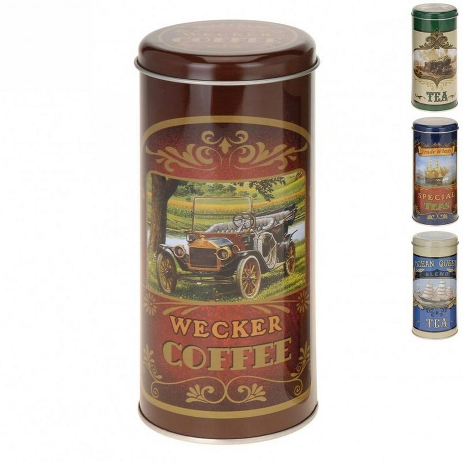 Plechový box na čaj guľatý ASS orion 126225