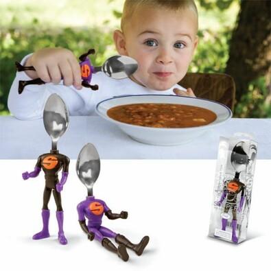Superhrdinská lžička pro děti