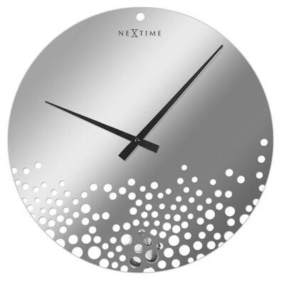 Nextime Bubbles 8130 nástěnné hodiny