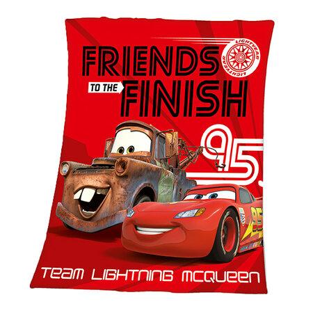 Detská deka Cars Friends Finish, 130 x 160 cm