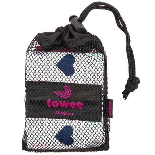 Towee Hearts Booty band textil gumiszalag  edzéshez, közepes ellenállású