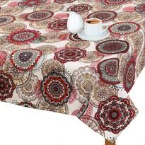 Față de masă Adéla Mandala roșie