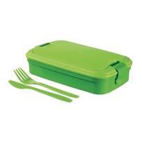Curver 00768-C52 Pudełko śniadaniowe LUNCH&Go, zielony