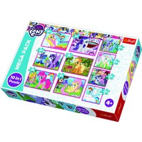 Trefl Puzzle My Little Pony, 10 szt.