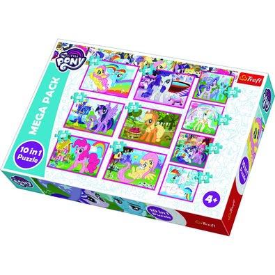 Trefl Puzzle My Little Pony, 10 db