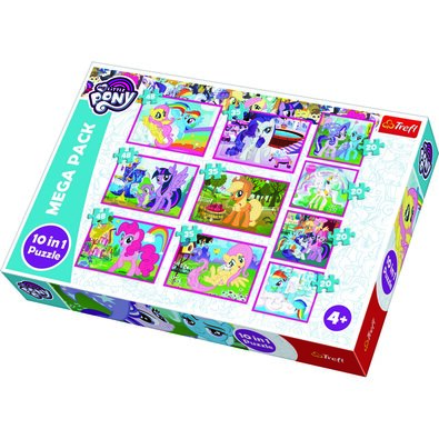 Trefl Puzzle My Little Pony, 10 ks