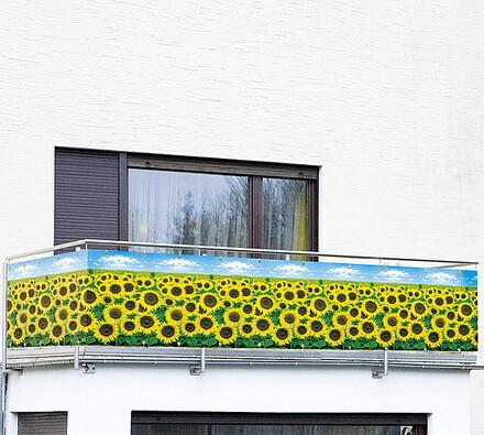 Wenko Zástěna na balkón slunečnice